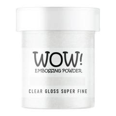 Пудра для эмбоссинга WOW CLEAR GLOSS - Super Fine