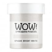 Пудра для эмбоссинга WOW OPAQUE BRIGHT WHITE - Super Fine