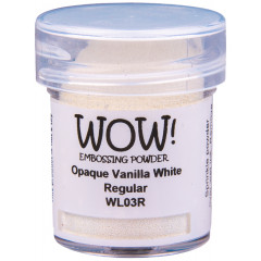 Пудра для эмбоссинга WOW OPAQUE VANILLA WHITE