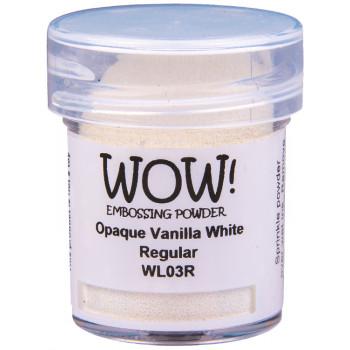 Пудра для эмбоссинга WOW OPAQUE VANILLA WHITE