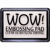 Чернильная подушечка для эмбоссинга WOW CLEAR ULTRA SLOW DRYING EMBOSSING PAD