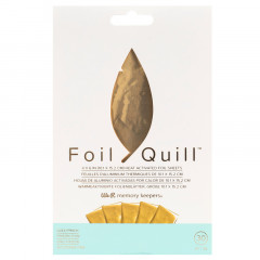 Фольга для Foil Quill от We R Memory Keepers HEAT ACTIVATED FOIL SHEETS GOLD FINCH