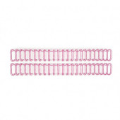 Пружины для биндера We R Memory Keepers 1,91см 2шт цвет розовый